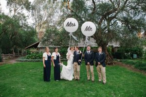 Mr and Mrs Printed Balloons | Melbourne | Australia | Magic In The Middle