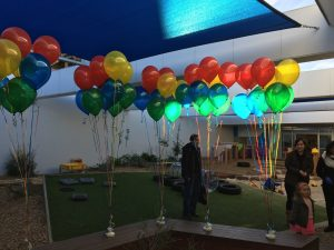 Happy 1st Birthday balloons | Melbourne | Hartington Street ELC