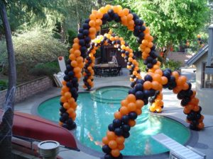 Pool Decor | Balloons Melbourne | Magic In The Middle