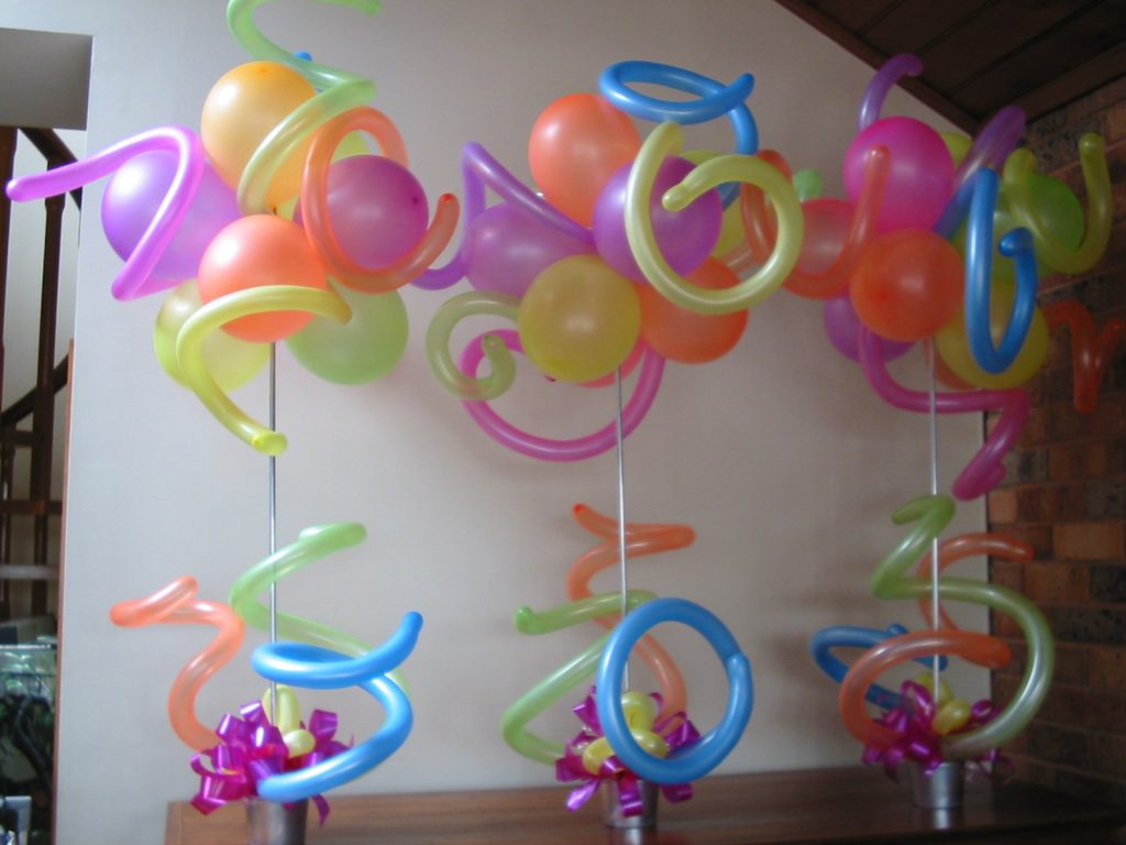 Neon Balloons Melbourne