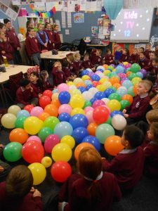 100 days of Prep   Melbourne   Event balloons