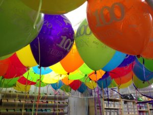 100 days of Prep | Melbourne | Event balloons