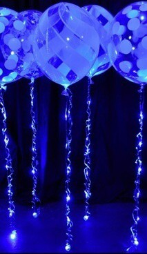 Twinkle Ribbon | Light up Balloon Ribbon