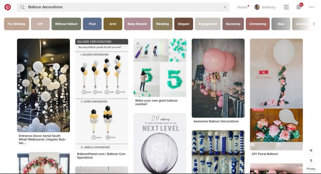 Pinterest Balloons | Confetti Balloons | Bubble Strands Balloons | Professional Balloon Decor | Balloons Melbourne