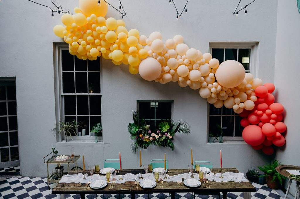 Organic Balloon Arrangement | Organic Balloon Birthday | Organic Balloon Décor | Organic Balloon Installation | Organic Balloon Sculpture