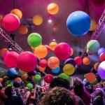 Balloon Drop Balloon Cascade