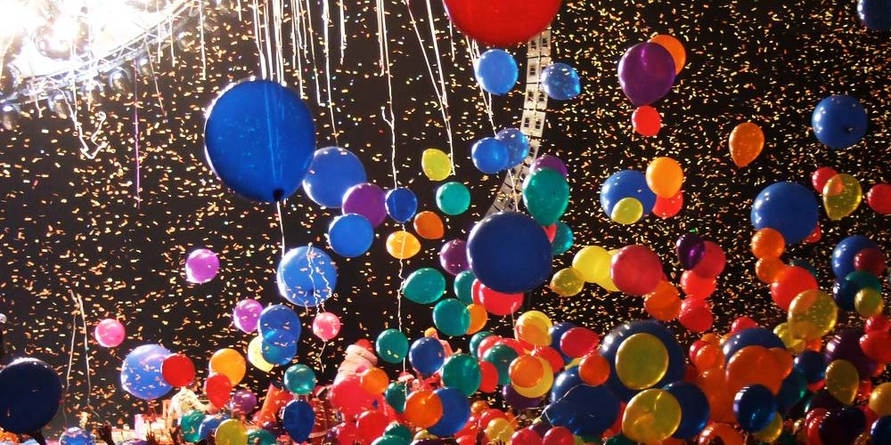 Balloon Drop and Confetti Cannons | New Year Eve Confetti | Balloon Drop Party