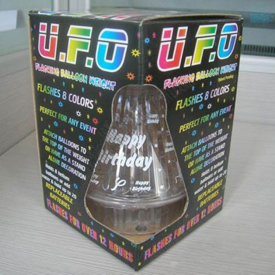 UFO and Glow Balloon Weights
