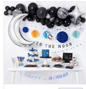 DIY Space party decorations