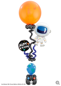 Space Party Balloons
