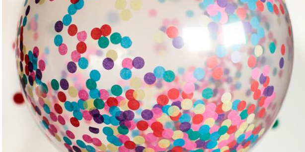 Confetti Balloons | Melbourne | Magic In The Middle